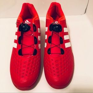 Adidas Weightlifting Shoes Red